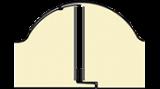 Pannello coibentato da copertura Coppo a forma di tegola sormonto