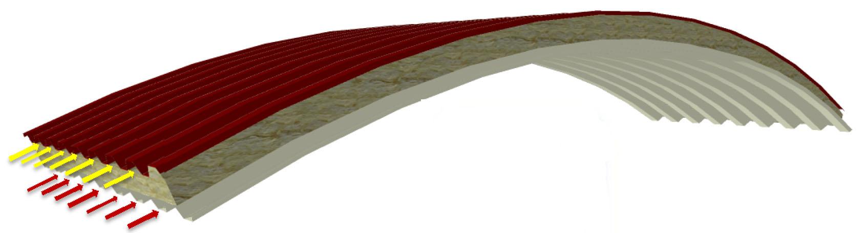 Panel C RW-GG Air in lana di roccia