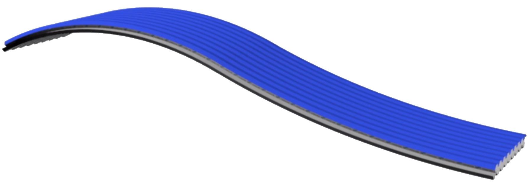 Pannelli coibentato curvo panel C GG curvo controcurvo