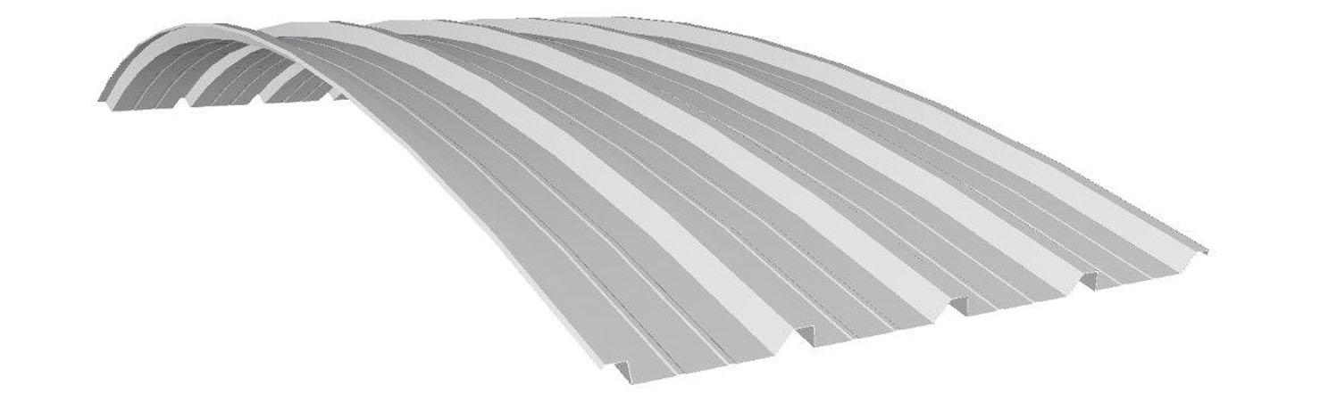 lamiera grecata curva LG40 G5